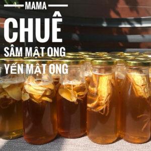 Mật ong sâm củ Mama Chuê