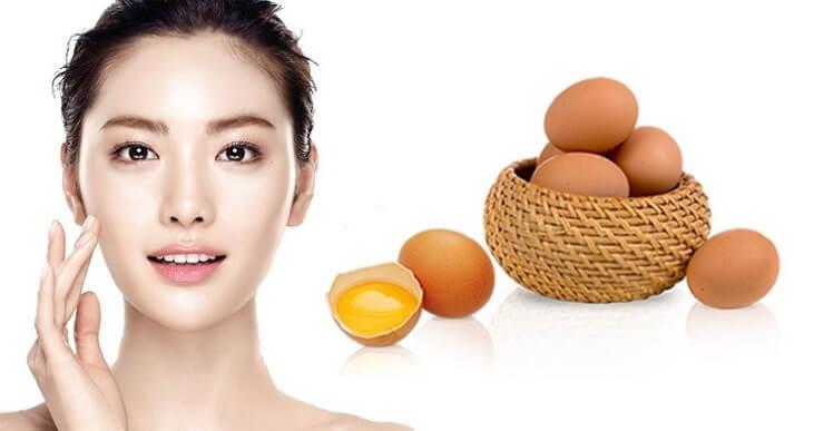 Cách làm sạch mụn cám bằng trứng gà