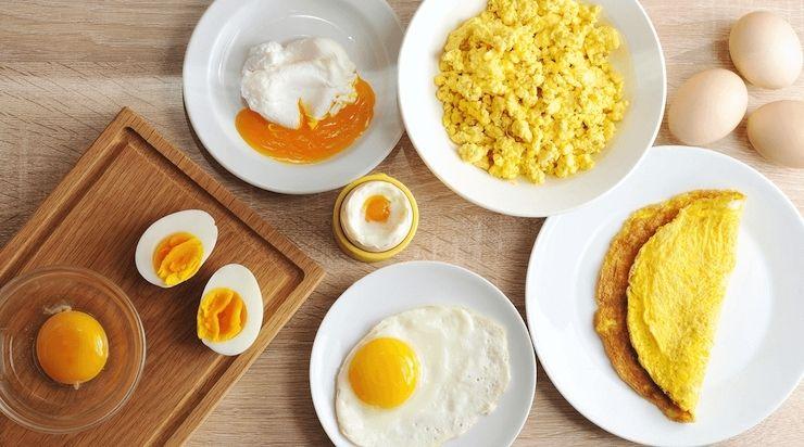Kiêng ăn thực phẩm từ trứng