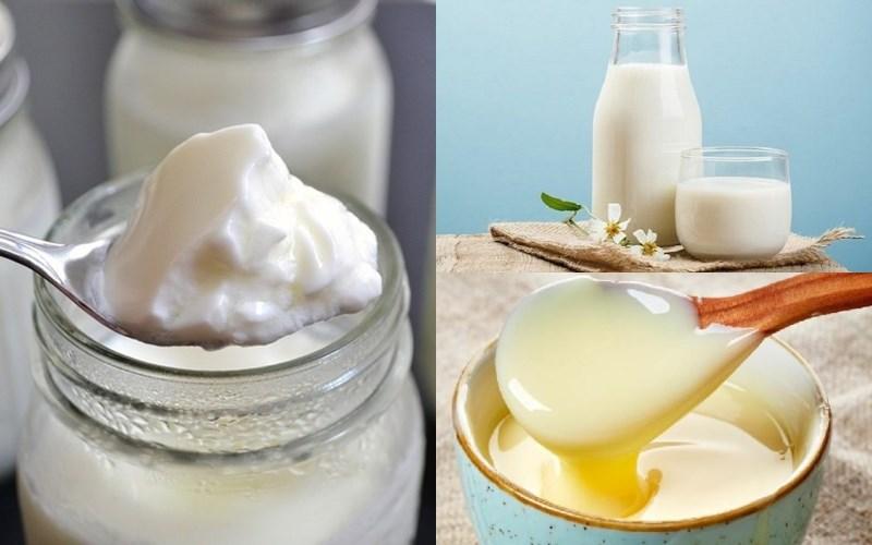 Sạch mụn tại nhà bằng sữa chua
