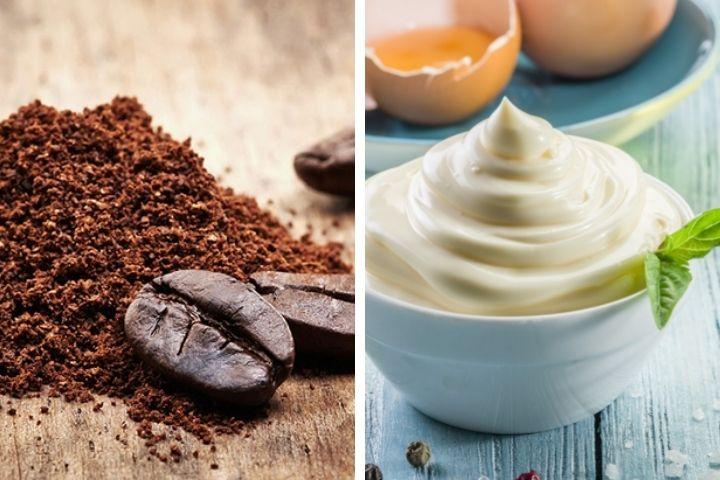 Cách làm tóc nhanh dài bằng cà phê và mayonnaise