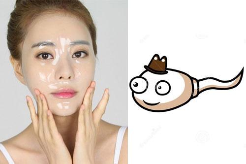 mặt nạ tinh trùng trị mụn
