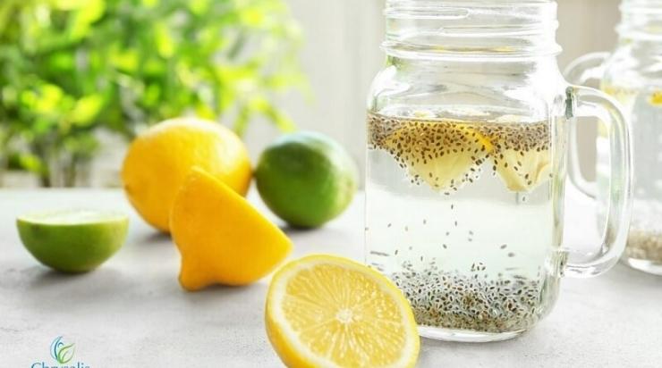 Nước mật ong hạt chia