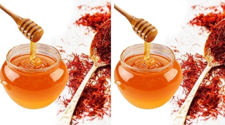 Trà nhuỵ hoa nghệ tây mật ong