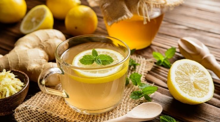 Uống mật ong với chanh