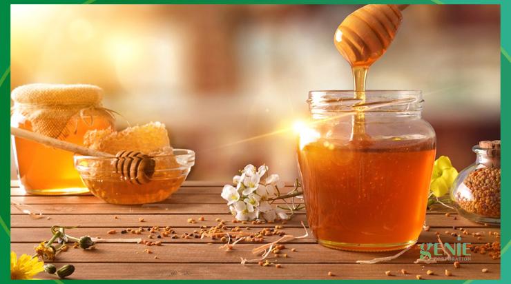 Cách trị mụn mủ bằng mật ong