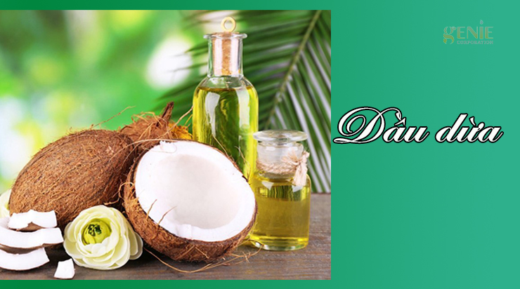 Làm mịn da nách bằng dầu dừa