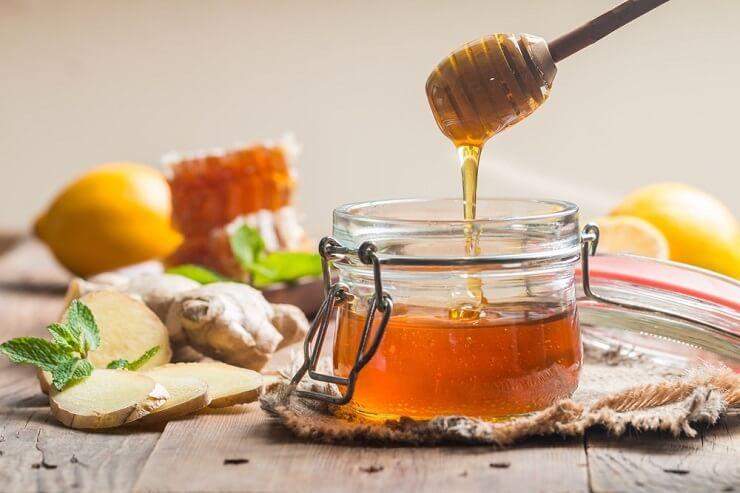 Trị mụn bằng mật ong sau 1 đêm với mật ong nguyên chất