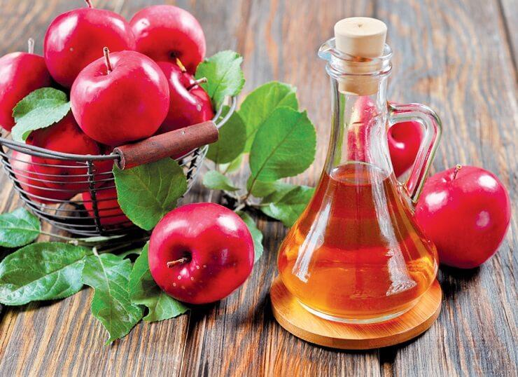 Cách trị mụn máu bằng giấm táo