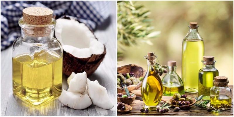 Cách ủ tóc bằng dầu dừa và dầu oliu