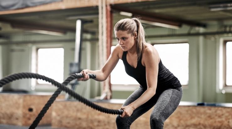 Luyện tập thể dục để tăng vòng 1
