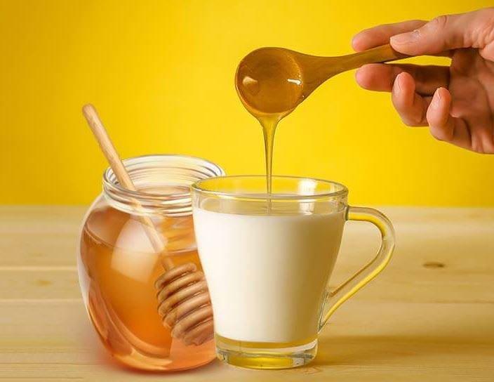 uống mật ong với sữa để tăng cân