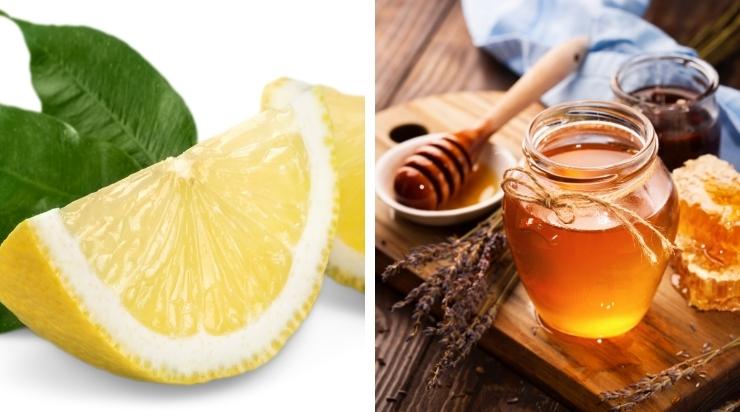 Nặn mụn xong nên đắp mặt nạ chanh và mật ong