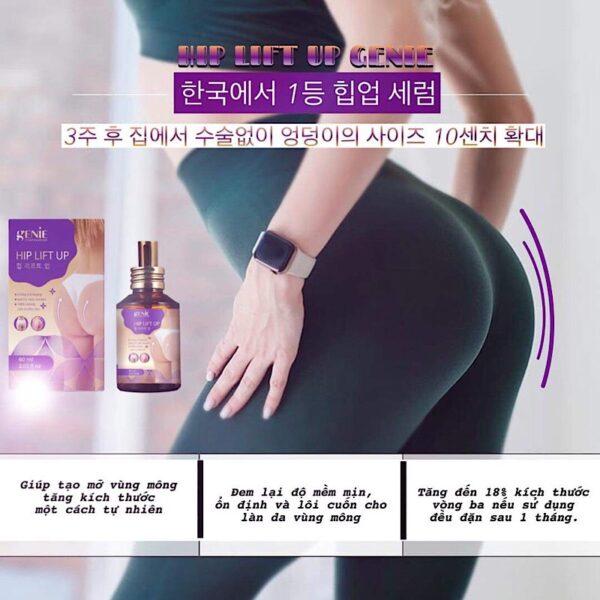 Serum nở mông và làm săn chắc vòng 3 Hip Lift Up Genie