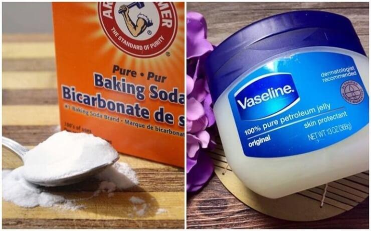 Cách trị thâm nách bằng baking soda và vaseline