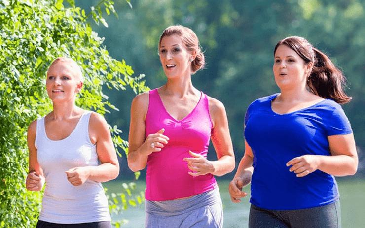 Uống thuốc giảm cân kết hợp tập luyện