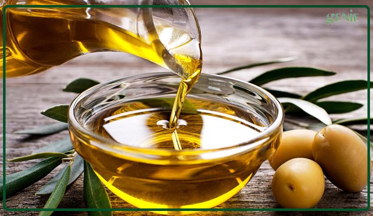 Massage da với dầu oliu giúp làm mịn da cho mẹ bầu