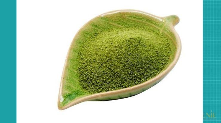 Cách se khít lỗ chân lông bằng bột trà xanh