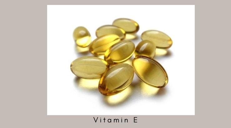 Cách se khít lỗ chân lông bằng vitamin E