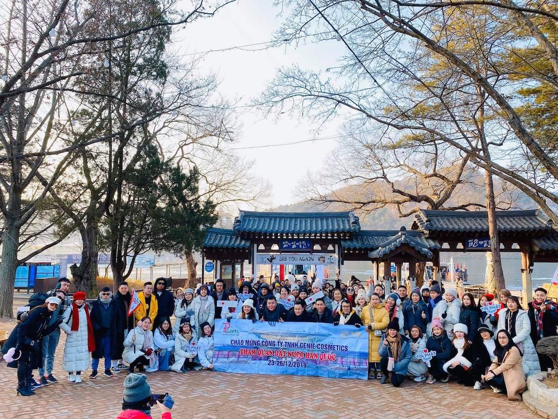 Chuyến đi tham quan Hàn Quốc của các đại lý của Genie năm 2019