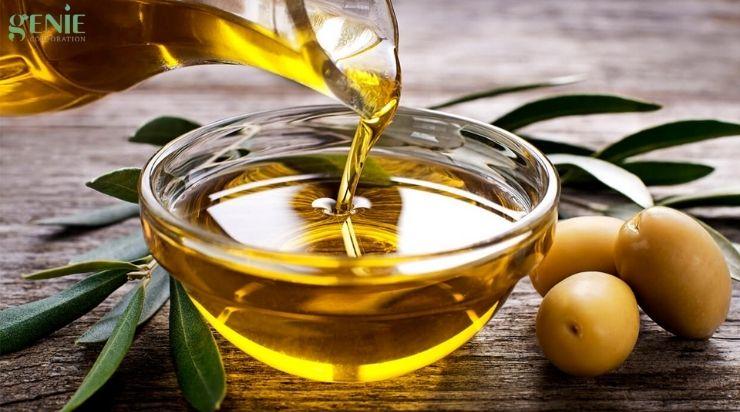 Lưu ý khi dưỡng da ban đêm bằng dầu oliu